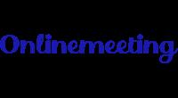 Onlinemeeting logo