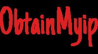 ObtainMyip logo