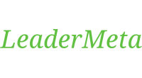 LeaderMeta logo
