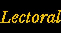 Lectoral logo