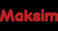 Maksim logo
