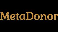MetaDonor logo