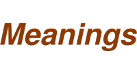 Meanings logo