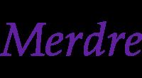 Merdre logo