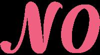 N0 logo