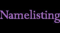 Namelisting logo