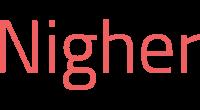 Nigher logo
