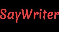 SayWriter logo