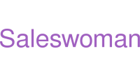 Saleswoman logo