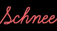 Schnee logo