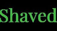 Shaved logo