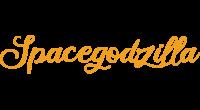 Spacegodzilla logo