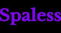 Spaless logo