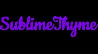 SublimeThyme logo
