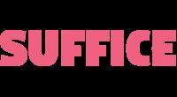 Suffice logo