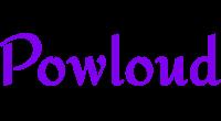Powloud logo