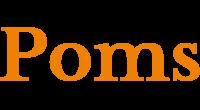 Poms logo