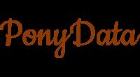 PonyData logo