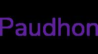 Paudhon logo