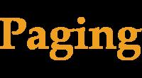 Paging logo
