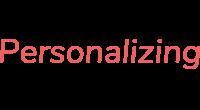 Personalizing logo