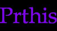 Prthis logo