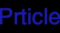 Prticle logo