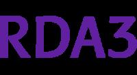 RDA3 logo