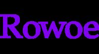 Rowoe logo