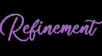 Refinement logo