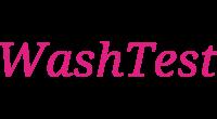 WashTest logo