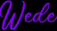 Wede logo