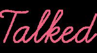 Talked logo