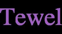 Tewel logo
