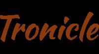 Tronicle logo