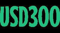 USD300 logo