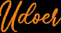Udoer logo