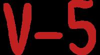 V-5 logo