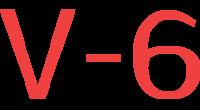 V-6 logo