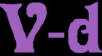 V-d logo
