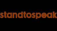 Standtospeak logo
